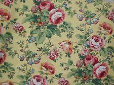 EC Mills Fabric Jay Yang  Lyndhurst  Yellow    Linen Blend Drapery Upholstery