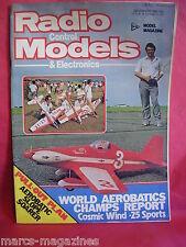 RCM&E DECEMBER 1981 DAVE SKERTCHLEY COSMIC WIND CHAPTER 2 SLOPE SOARER PLAN