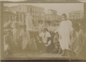 Snapshot-Africa-nord-Fotografia-Originale-Vintage-Citrato-ca-1900-ND44