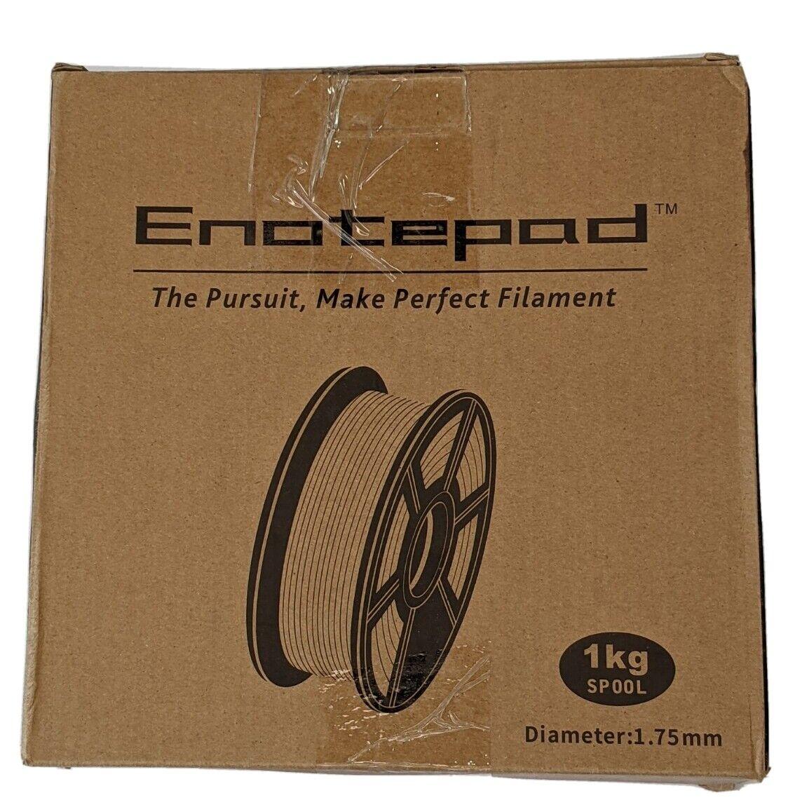 Enotepad 3D Printer Filament 1.75MM Filament 1KG for 3D Printer Black 200 - 230c
