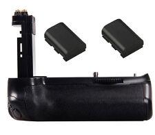 Battery Grip Pack Holder + 2x 1600mAh LP-E6 For Canon EOS 7D mark II DSLR Camera