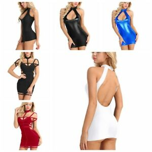 8781f1d3e5e4 Image is loading Sexy-Womens-Sleeveless-Backless-Bodycon-Cocktail-Party-Slim -