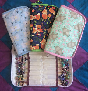 Lace Making gepolsterte Unterfaden Case-Hält 40 Paar * Hippo * Fox * Kitty *