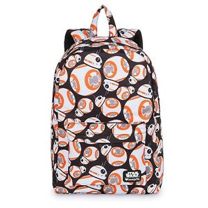66fde9d302e Disney Store Loungefly BB-8 Backpack Star Wars Droid School Hand ...