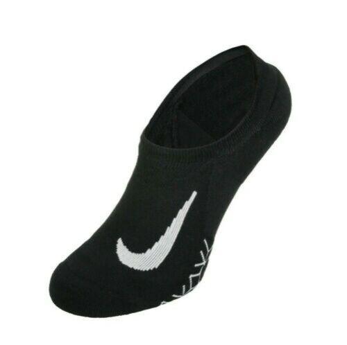 NEW Nike Dri-Fit Elite Cushioned No-Show Running Socks Black-Pick Size /& Qty