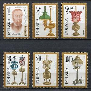 35974) Poland 1982 MNH Lukasiewicz 6v