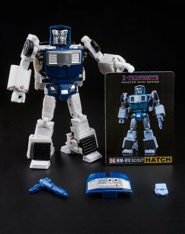 Nuevos X-TRANSBOTS Transformers Mm-VII escotilla del portón trasero figura En Stock