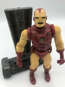 2002-ToyBiz-Marvel-Legends-6-034-Iron-Man-Loose-Figure-Series-1-Rare-Mint-Nice-New