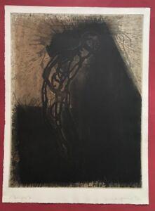 Michael Morgner, paura, aquatintaradierung, 1992, a mano firmata e datata