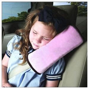 Rosa-Sicherheits-Gurtpolster-Autogurtpolster-Schulterpolster-kind-Schlafkissen
