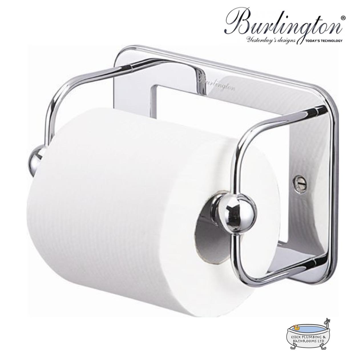Burlington Porte-rouleaux de papier toilette Chrome (A5CHR) | | | Apparence Attrayante  804e2a