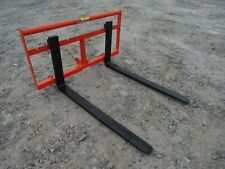 "item 4 Kubota BX Sub Compact Tractor 42"" Pallet Fork Attachment 2,200 Pound - Ship $179 -Kubota BX Sub Compact Tractor 42"" Pallet Fork Attachment 2,200 ..."