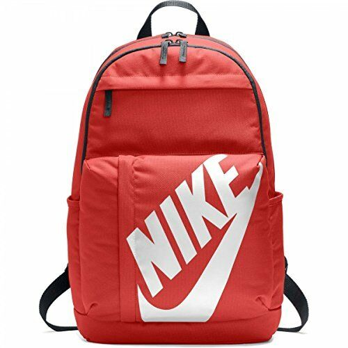 Nike Elemental Sports Backpack Classic Gym Bag Orange White Ba5381 634