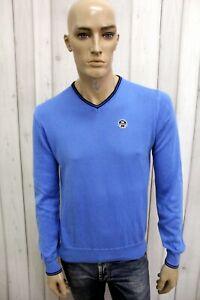 NORTH-SAILS-Maglione-Uomo-Taglia-M-Cotone-Blu-Casual-Pull-Pullover-Sweater