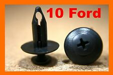 10 Ford wheel arch mud flap plastic fasteners clips