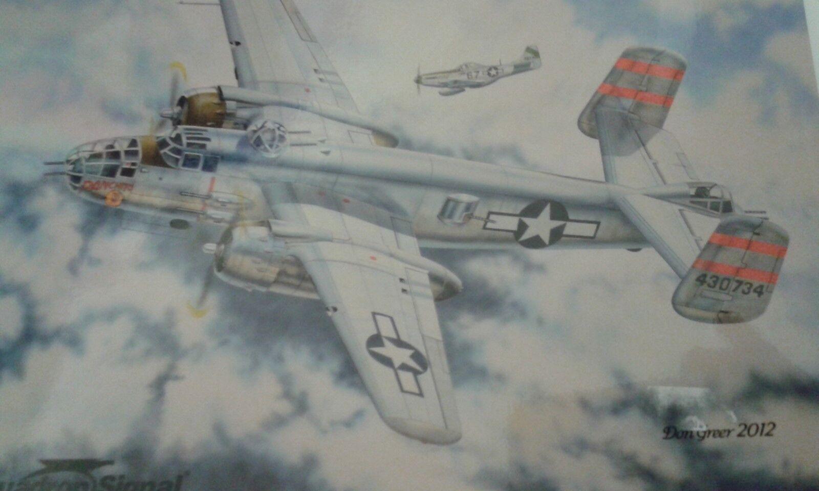B-25 MITCHELL-SQUADRON SIGNAL WALK AROUND N.25071-BY N.25071-BY N.25071-BY DAVID DOYLE 68e464