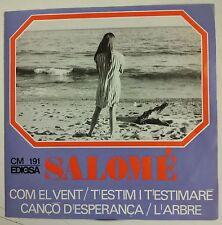 """Salomé Com el Vent Single 7"""" edición original del año 1967"""