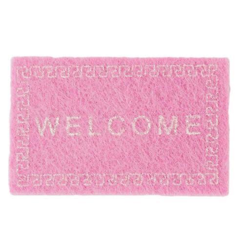 1:12 Welcome Home Entrance Floor Rug Nonslip Doormat Door Mat H3X3 B0N3