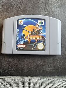 Castlevania (Nintendo 64, 1999) - versión europea PAL versión – N64 solo carro