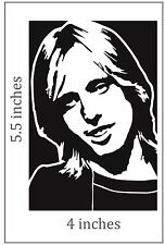 2 TOM PETTY Stickers Cut Vinyl Decal Heartbreakers traveling wilbury's