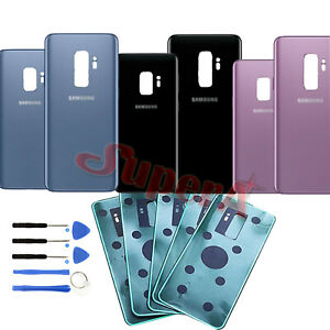 For-Samsung-Galaxy-S9-S9-Plus-Back-Rear-Replace-Glass-Battery-Cover-G960F-G965F