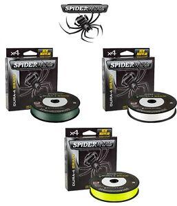 Spiderwire-Dura-4-Lignes-Tressees-Toutes-Les-Couleurs-TOUTES-LES-TAILLES-Pike-Carp-Coarse-jeu