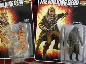 The Walking Dead, un véritable héros de l'apocalypse: quatre figurines 787926147414
