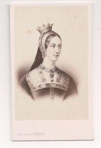 Vintage CDV Queen Joan of Fran...