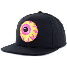 "Mishka NYC ""Keep Watch"" Woven Snapback Hat (Black) SU16 Men's Eyeball Patch Cap"