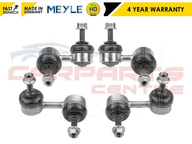 FOR HONDA CIVIC 2.0 TYPE R EP3 2x FRONT 2x REAR MEYLE HD STABILISER DROP LINKS