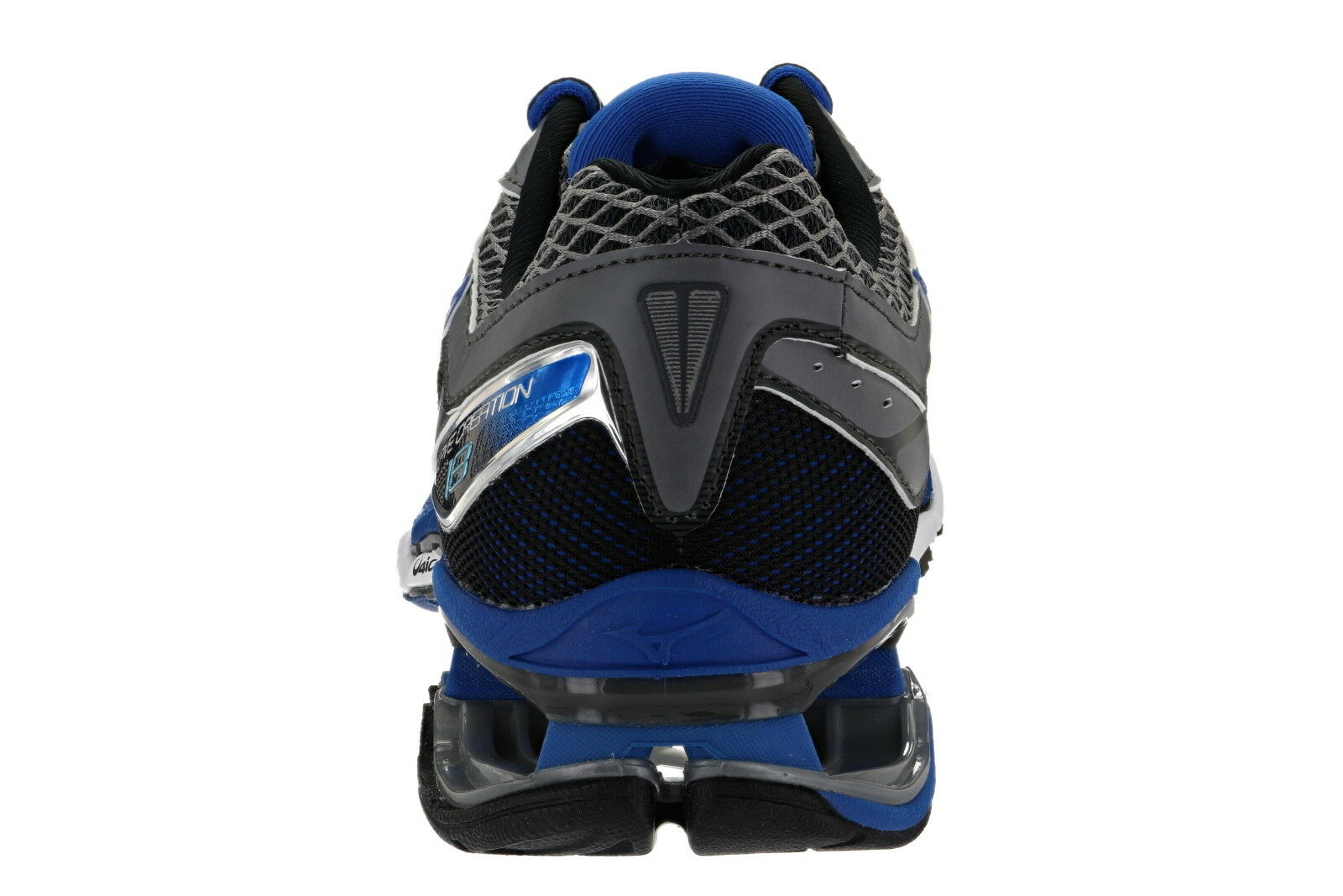 Mizuno Wave Creation 18 Uomo Dimensione 9 Medium Medium Medium Width Running scarpe Steel blu d49d8f