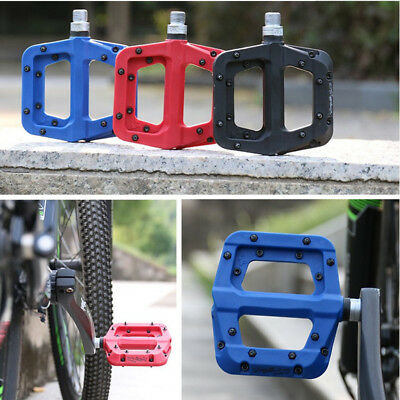 WHeel UP 3 color Mountain Road Nylon Fiber pedal Sealed bearing flat bike pedals
