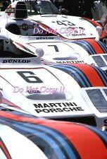 Martini Porsche 936 Pit Lane Area Le Mans 1978 Photograph