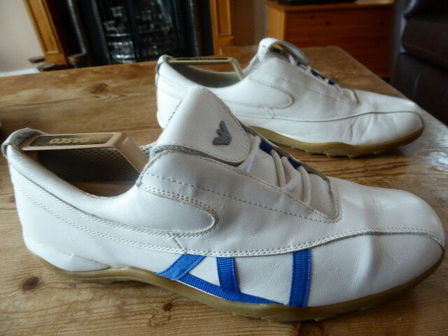 Mens ARMANI JEANS trainers - size 44 great condition
