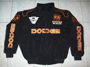 NEU DODGE RAM MAGNUM V8 Fan- Jacke schwarz(orange<wbr/>) jacket veste jas giacca jakka