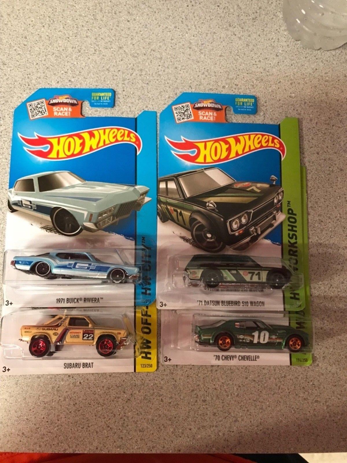 Hot Wheels Kmart día Conjunto de 4 difícil de encontrar