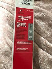 Diamond Premium Wet Core Bit IN STOCK Milwaukee 48-17-3009 7//8 in
