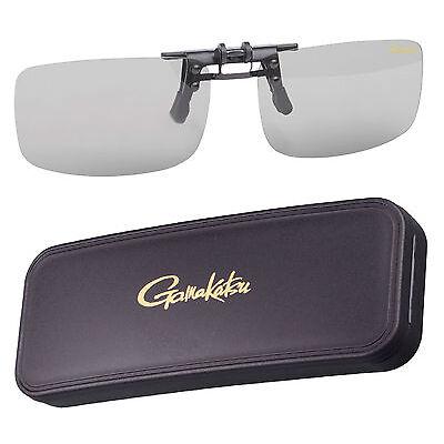Gamakatsu G-Glasses Clip on Glass Amber Light Gray Polarisationsbrille Polbrille