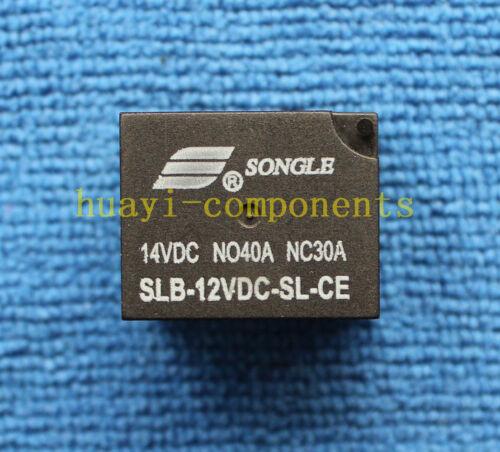 5 un Original SLB-12VDC-SL-CE songle 12VDC Relé Nuevo