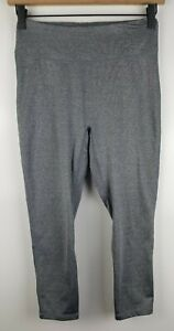 Uniqlo Womens Airism Soft Stretch Leggings Sz Small Gray Polyester Blend Euc Ebay