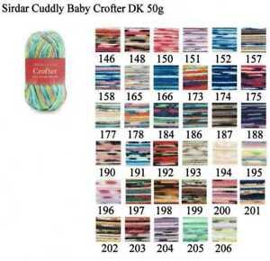 Sirdar-Snuggly-Baby-Crofter-DK-Yarn-Acrylic-Nylon-Double-Knitting-Wool-50g
