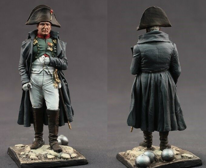 Tin toy soldiers  painted 75 mm   French Emperor Napoleon