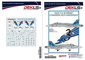 1-144-F-A-18-Hornet-RAAF-3-SQN-90th-Anniversary-A21-13-Decal-DEK-L-039-s-II
