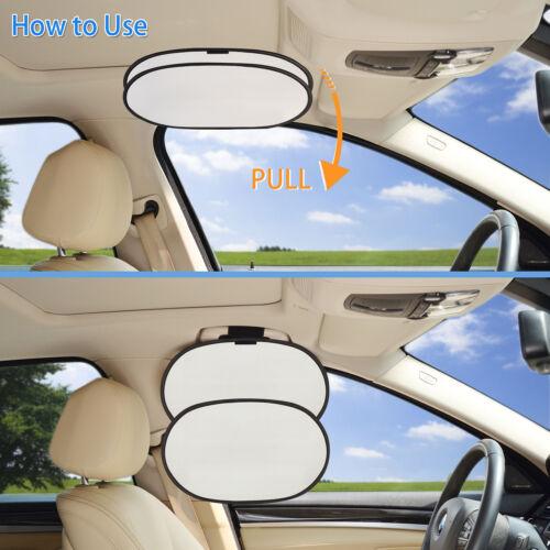 UV Block Window Car Interior Roof Handle Sun Blocker Sunshade for Front Seat