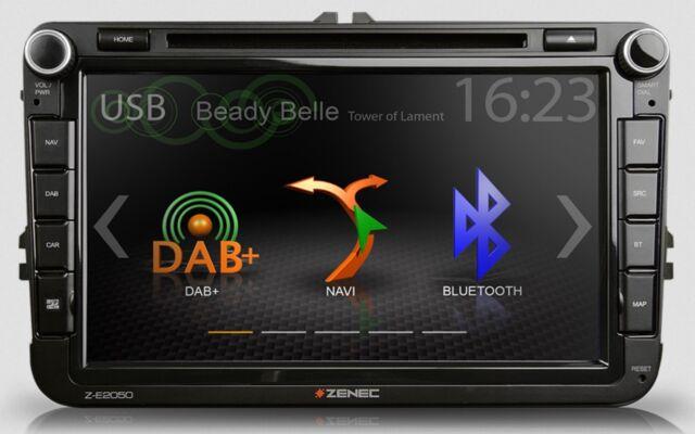 ZENEC Z-E2050 Moniceiver für Tiguan Caddy EOS Beetle Golf Plus Amarok T5 Sharan