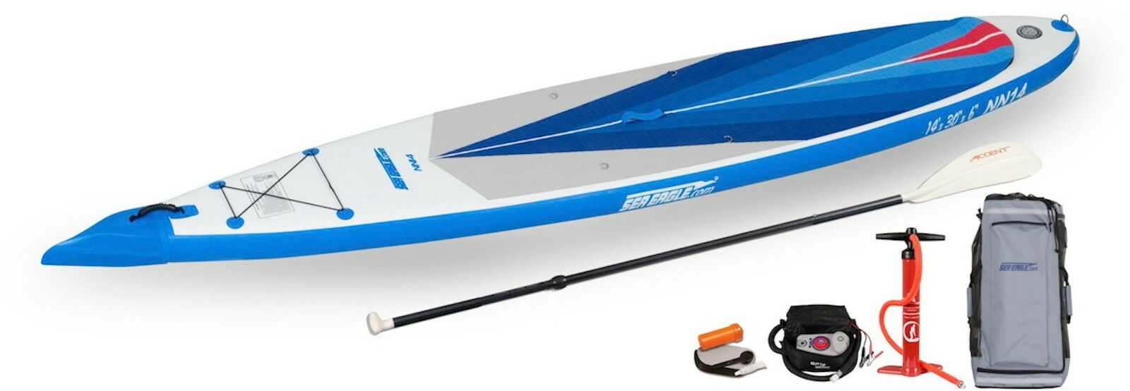 SEA EAGLE NN14 NEEDLENOSE ELECTRIC PUMP STAND UP SUP INFLATABLE PADDLEBOARD
