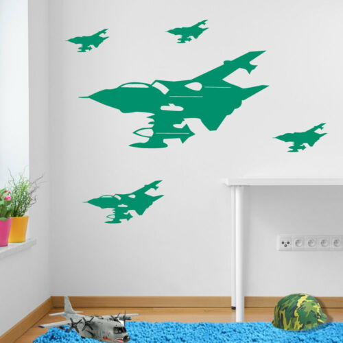 Army Military Plane Jets Tornadoes Aircrafts Kids Vinyl Sticker Mural Decor A42