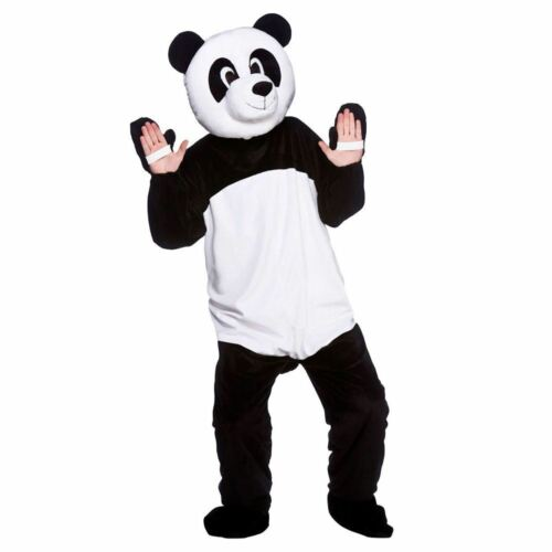 Adult Giant Panda Fancy Dress Mascot Costume Animal Zoo Wild Bear Unisex New