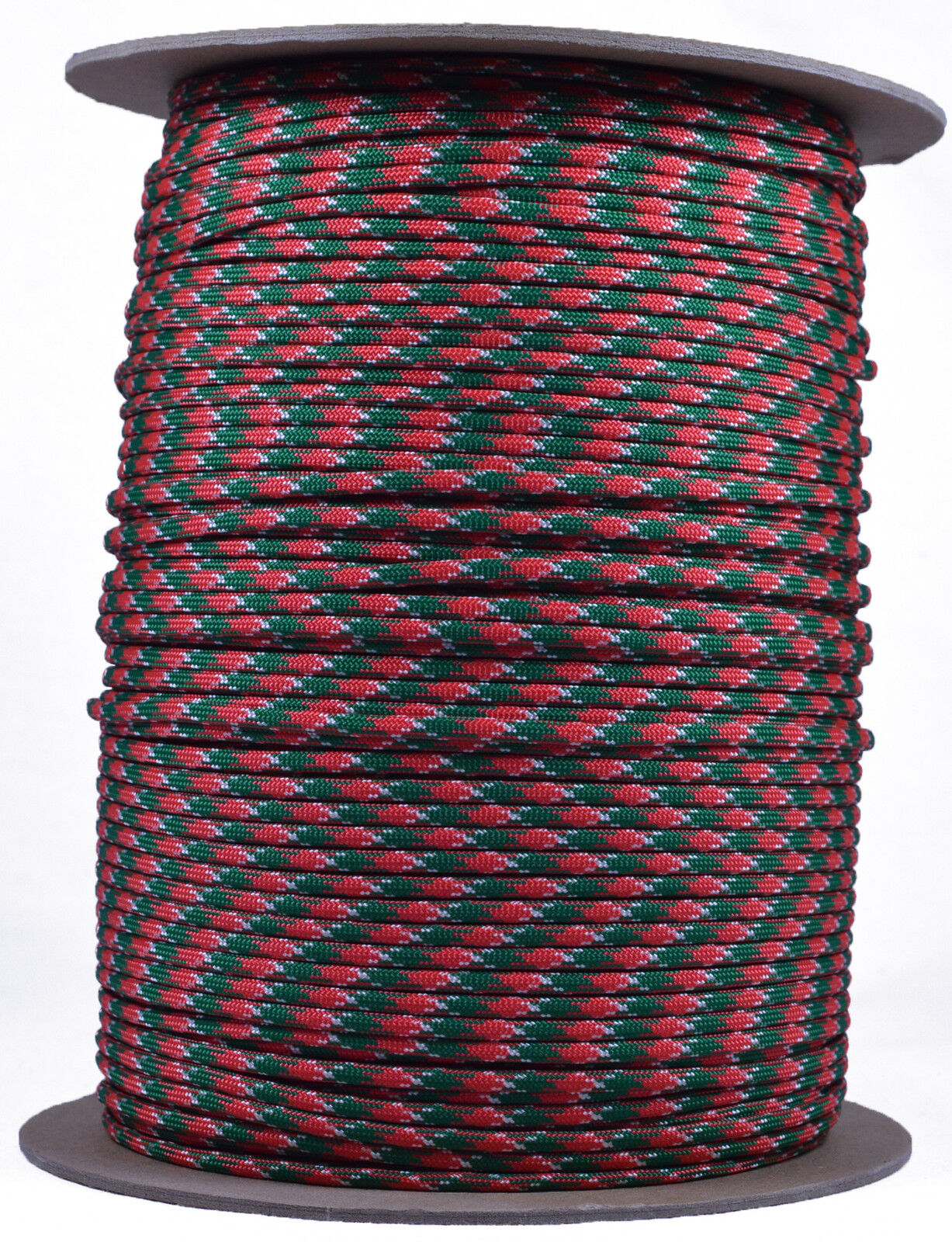 Holly Jolly  550 Paracord Rope 7 strand Parachute Cord  1000 Foot Spool