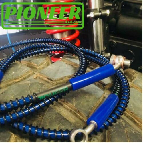 Pioneer 4x4 Brake Hose Kit Land Rover Discovery 3 /& 4 All Variants 2004-2017